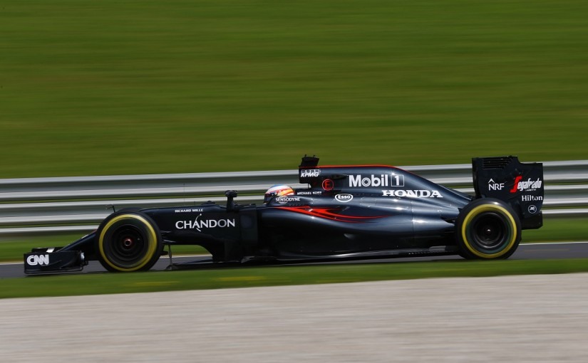 F1 | マクラーレン「アロンソが新リヤウイングのテスト。あと少し改善が必要」/オーストリアGP金曜