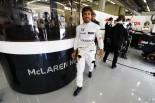 F1   アロンソ「新パーツはいいものもそうでないものも…。明日最適化すれば強くなる」:マクラーレン・ホンダ