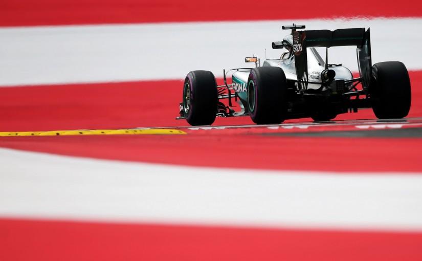 """F1   ハミルトン「今日の僕は""""サンデードライブ""""みたいに遅かった」:メルセデス オーストリア金曜"""