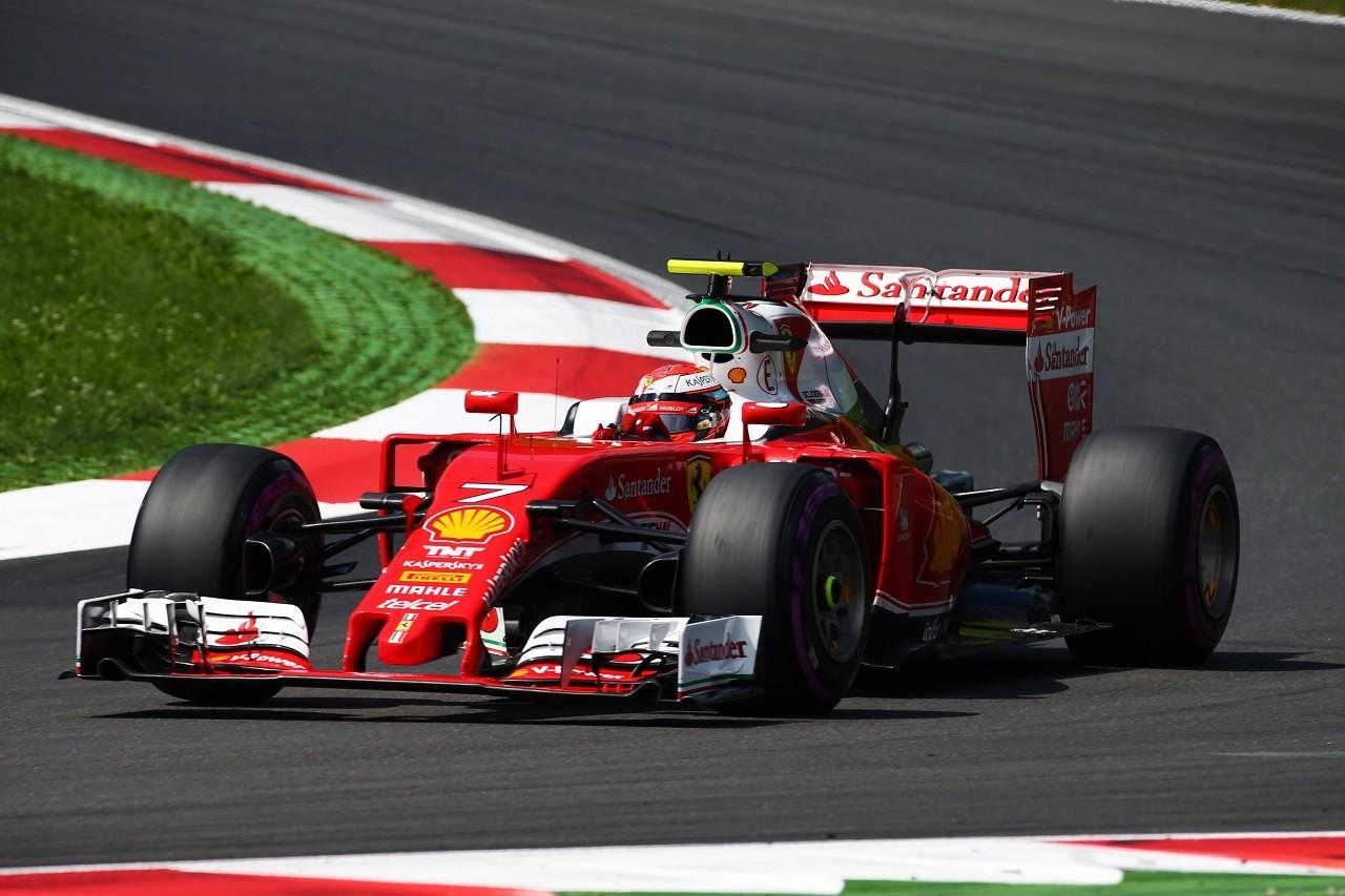 2016年第9戦オーストリアGP キミ・ライコネン(フェラーリ)