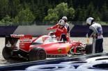 F1 | ベッテル「スピンの原因はブレーキ。本当にびっくりした」:フェラーリ オーストリア金曜