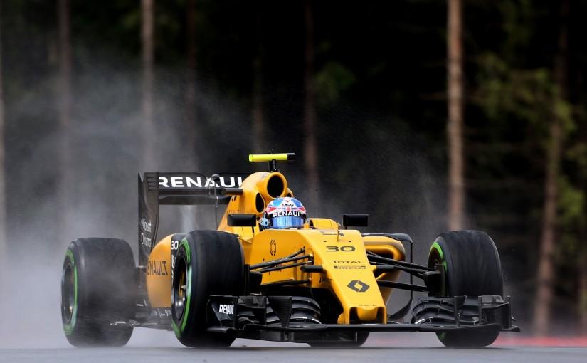 F1 | パーマー「ウエットでも驚くほどグリップがよかった…スピンしたけど」:ルノー オーストリア金曜