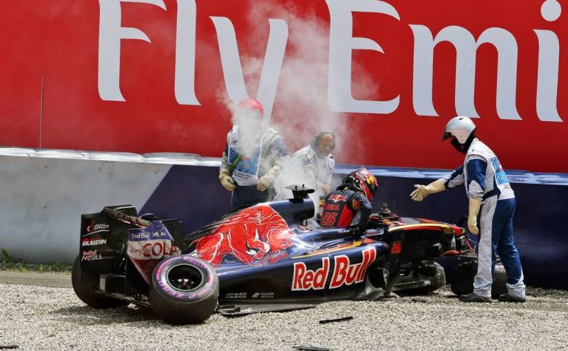 F1 | 予選Q1速報:ロズベルグ修復が間に合って首位、クビアトの大事故で赤旗