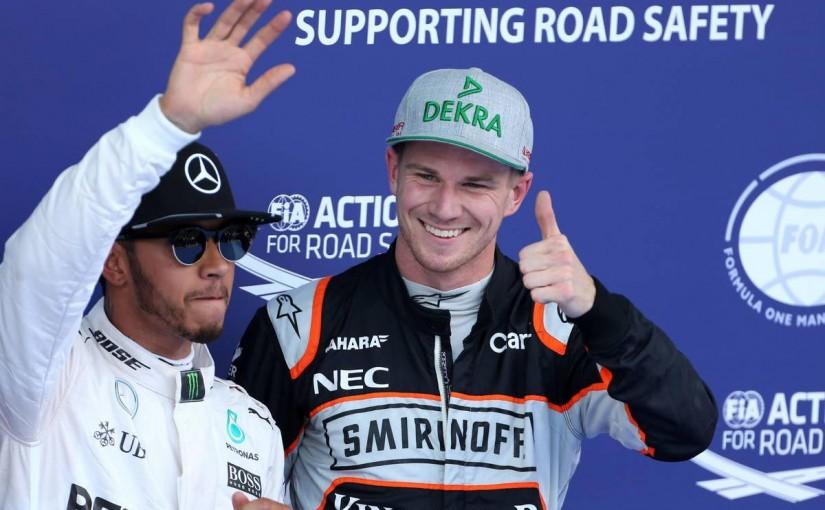 F1 | ヒュルケンベルグ「2010年のPPを思い出した。最前列から大量得点を狙う」:Fインディア オーストリア土曜