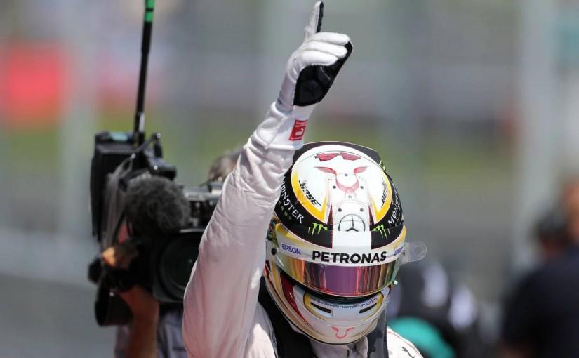 F1 | ハミルトン「ウルトラソフトでのスタートは厳しいと分かってる」:メルセデス オーストリア土曜