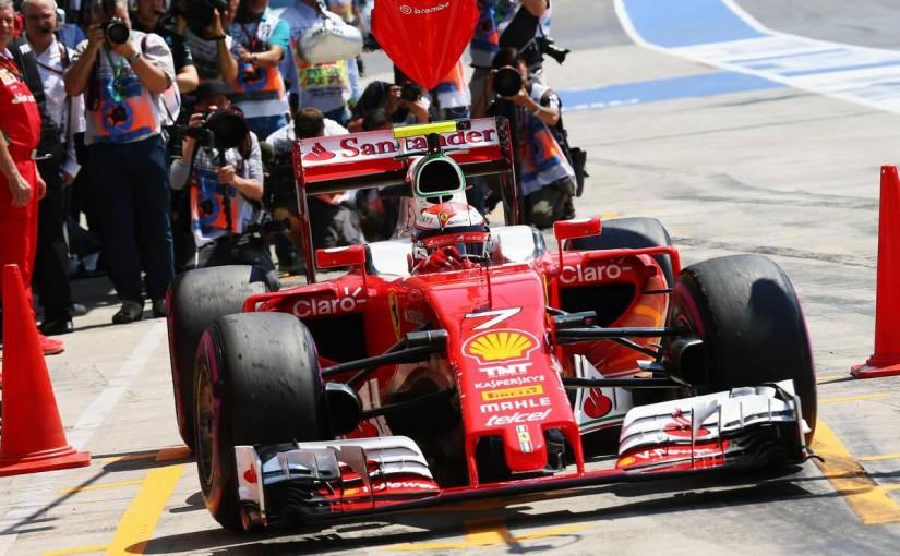 F1 | ライコネン「反省し、責任を引き受ける必要がある」:フェラーリ オーストリア土曜