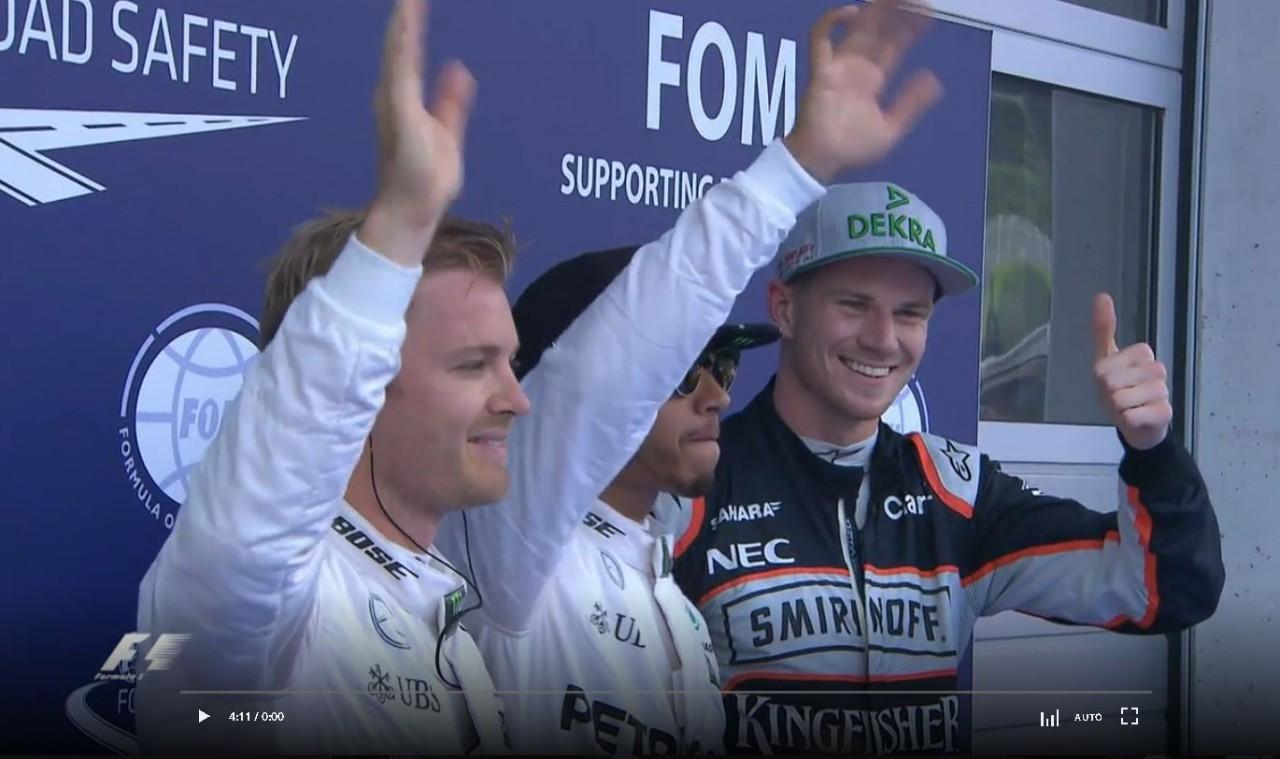 F1オーストリアGP予選