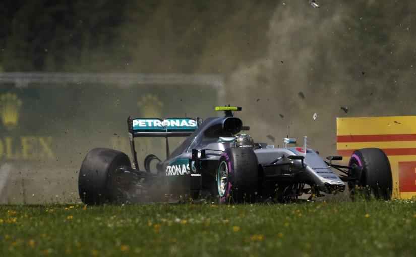 F1 | ロズベルグ「サスペンション破損が決勝で大きな痛手に」:メルセデス オーストリア土曜