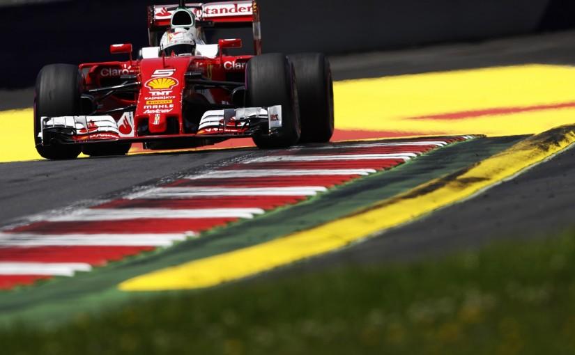 F1 | ベッテル「ドライバーの責任。もっとリスクを取るべきだった」:フェラーリ オーストリア土曜