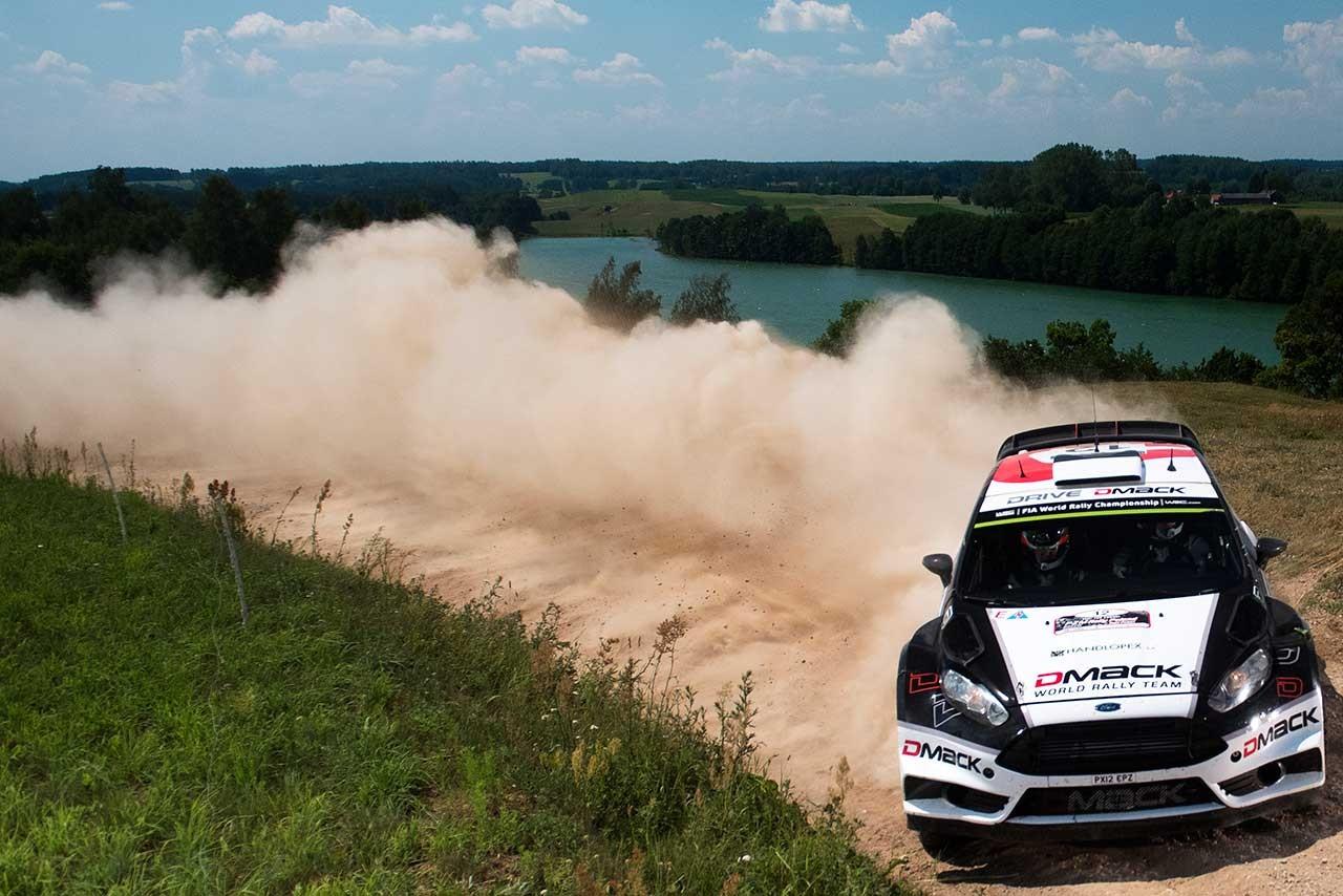 WRC第7戦ポーランド