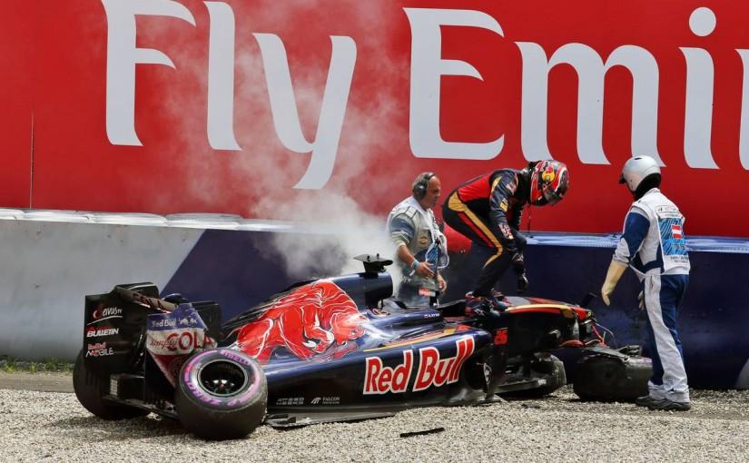 F1 | クビアト、予選のクラッシュでモノコックを交換。ピットレーンスタートに