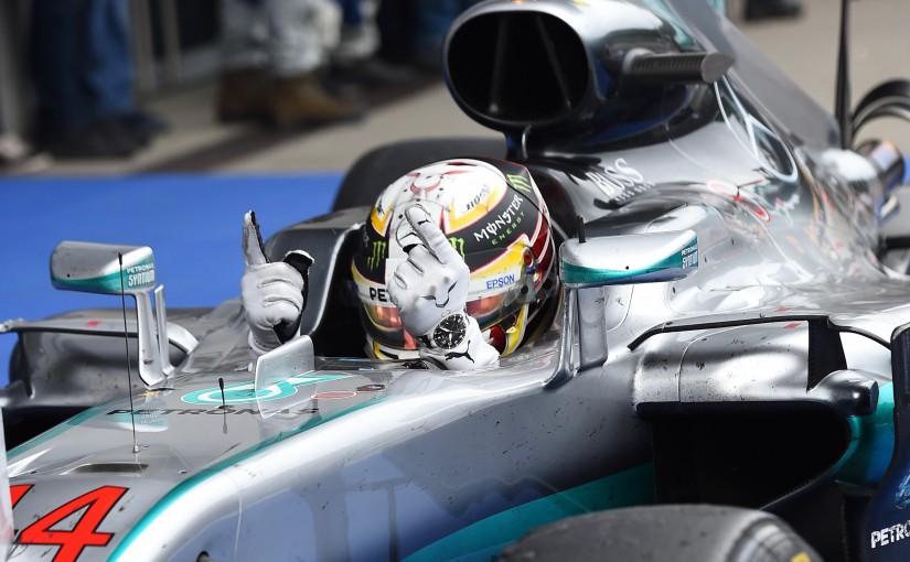 F1   ラスト1周の大波乱、ハミルトンが2コーナーの同士討ちを制す。バトン6位と健闘