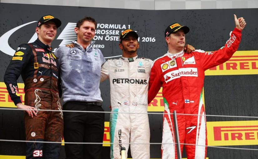 F1 | 【ポイントランキング】F1第9戦オーストリアGP 終了時点