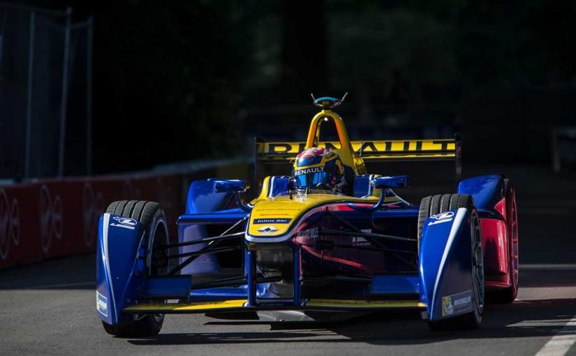 海外レース他 | FEロンドンePrix:チャンピオン争うふたりがスタート直後にクラッシュ