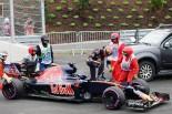 F1   クビアト「ドライバー人生の90%は、つらいこと。次は残りの10%が来ますように」:トロロッソ オーストリア日曜
