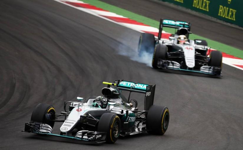 F1 | 最終ラップの接触でロズベルグに10秒ペナルティ、壊れた状態での走行に戒告も