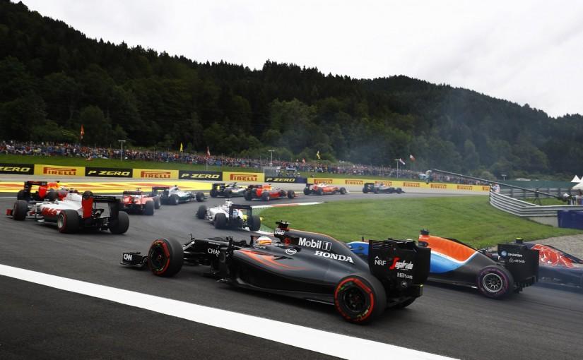 F1   アロンソ「3周目からエンジンが不調に。なんとか1点をつかみたかったが…」:マクラーレン・ホンダ オーストリア日曜