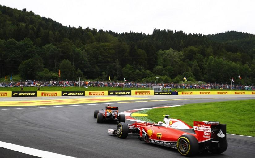 F1 | ライコネン「黄旗がなければフェルスタッペンを抜けた」:フェラーリ オーストリア日曜