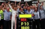 F1   初入賞のウェーレイン「10位の表示が信じられず『11位じゃないの?』って尋ねた」:マノー オーストリア日曜