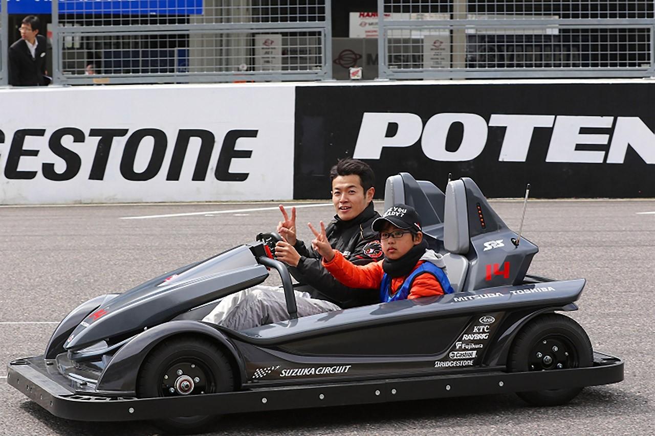 GTドライバー26人のガチ(?)バトルを助手席で! SGT鈴鹿公式テストでイベント開催