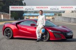 F1 | アロンソがエストリルでホンダNSXをドライブ。王者によるインプレッションは?