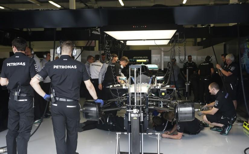 F1 | ロズベルグのトラブルは予想より深刻。「ルイスのデータを活用して挽回する」:メルセデス イギリス金曜
