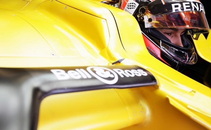 F1 | オコン「これほど高速のコースをF1で走ったのは初めて」:ルノー イギリス金曜