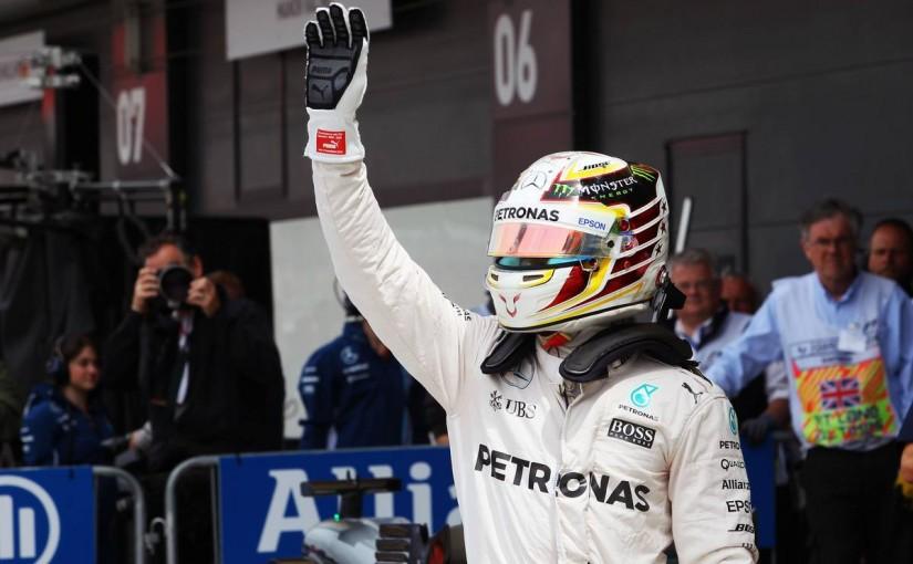 F1 | 動画:ハミルトンの予選Q3オンボード映像/F1イギリスGP
