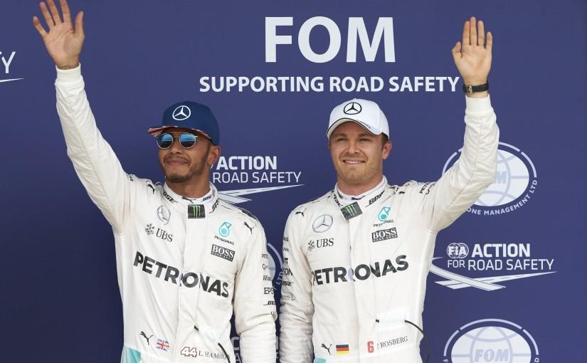 F1 | ロズベルグ「ルイスとは接触を避けながら今後も戦っていく」:メルセデス イギリス土曜