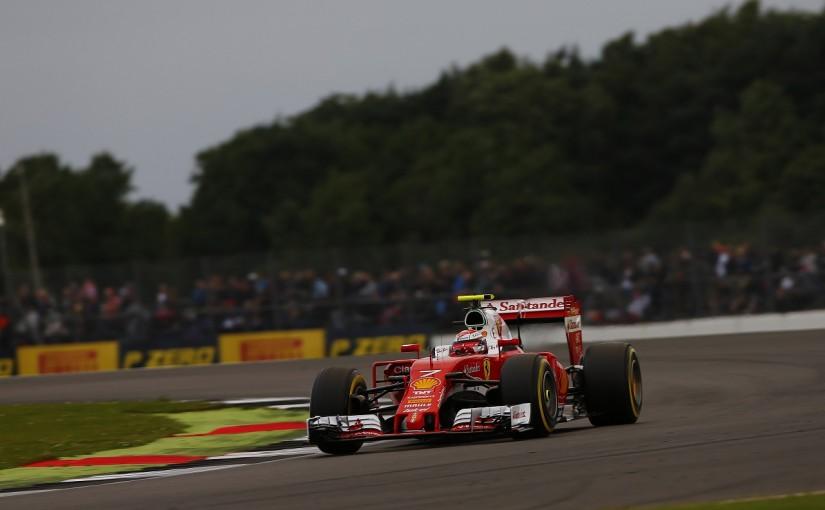 F1   ライコネン「スピンなんかすべきじゃない」:フェラーリ イギリス土曜