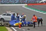F1 | エリクソン、イギリスGPへの出走にゴーサイン。ステアリング脱落は問題なし