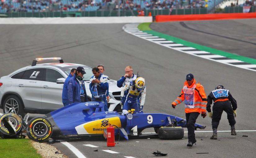 F1   エリクソン、イギリスGPへの出走にゴーサイン。ステアリング脱落は問題なし
