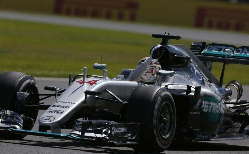 F1 | ついに1点差。ハミルトン、記念の母国GPを完勝。ロズベルグに無線違反で罰則