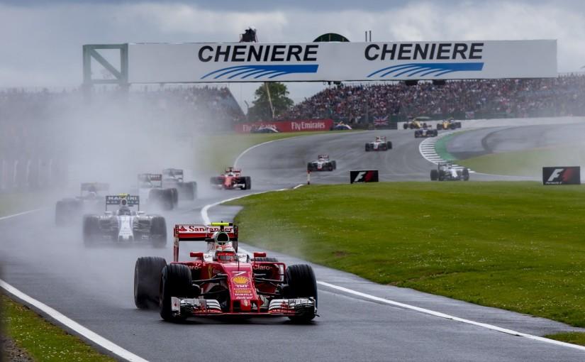 F1   ライコネン「ダウンフォースが足りないのが苦戦の原因」:フェラーリ イギリス日曜