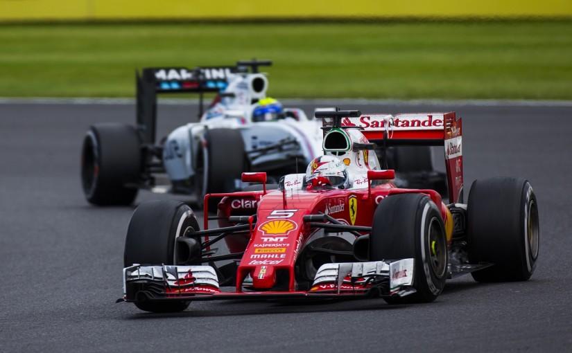 F1 | ベッテル「故意にマッサを押し出したと判断されるなんて心外」:フェラーリ イギリス日曜