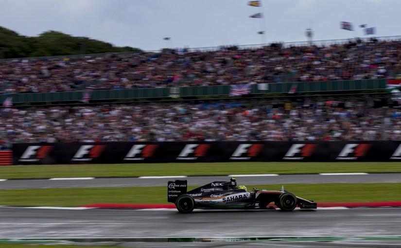 F1 | ペレス「スピンした瞬間、これで終わったと思った」:Fインディア イギリス日曜