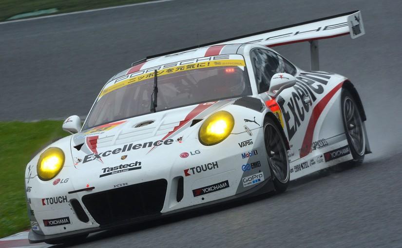 スーパーGT | 7月16〜18日の3日間、Excellence Porscheがポルシェセンター銀座に登場