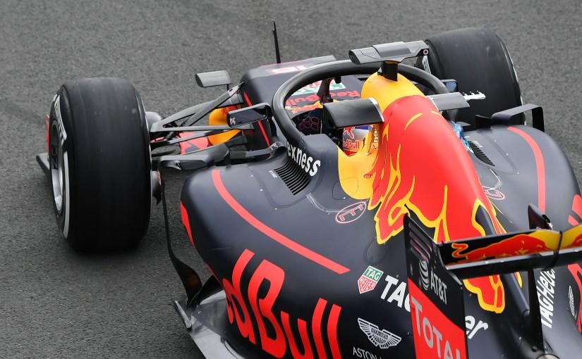 F1   レッドブルが「ハロ」を初テスト。しかし、チームは反対票を投じる考え