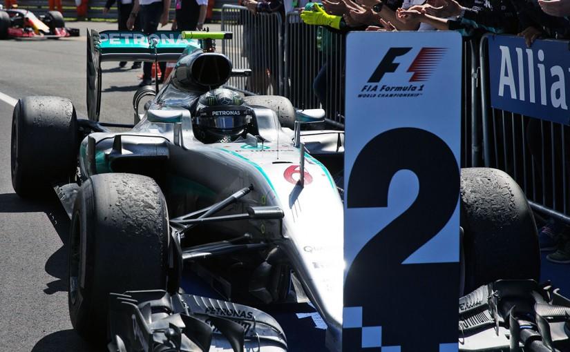 F1 | メルセデス、ロズベルグへのペナルティの提訴取り下げを発表