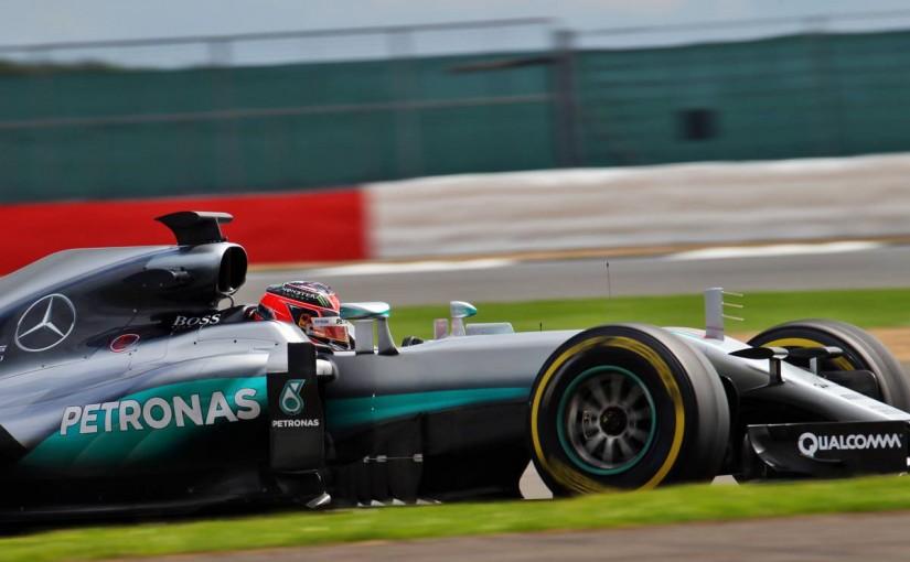 F1 | メルセデスのオコンが首位【午前タイム結果】シルバーストンF1合同テスト2日目
