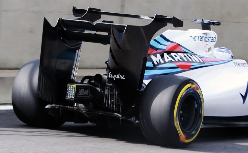 F1 | 奇抜なダブルデッカー・リヤウイングの効果は……「少しだけ」と歯切れ悪いボッタス