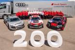 ル・マン/WEC | アウディ、200台目のR8 LMSをデリバリー。「足跡を誇りに思う」