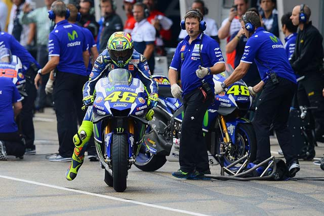 MotoGP   MotoGP:ロッシ「スリックを選択した場合はより遅かっただろう」