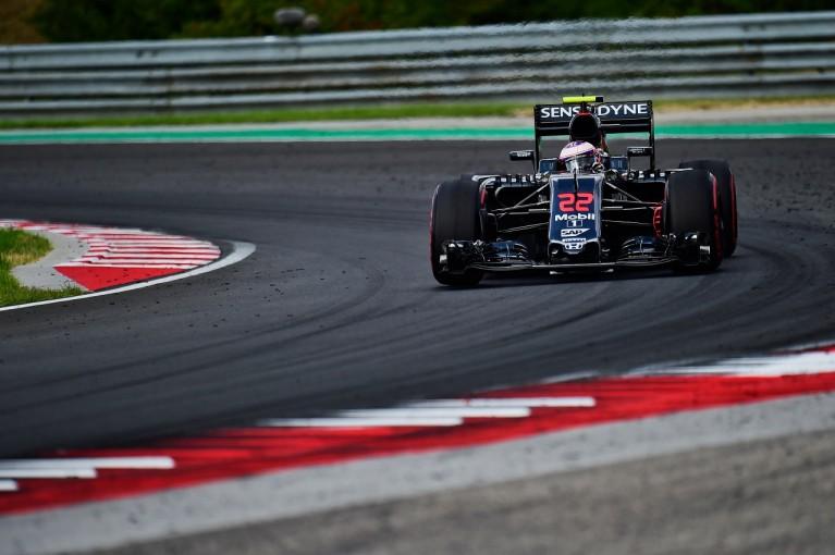 F1 | バトン「マシンの感触はとてもいい。中団争いを制したい」:マクラーレン・ホンダ ハンガリー金曜