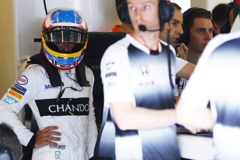 F1 | アロンソ「PU交換は残念だが後退はしていない。Q3に進める」:マクラーレン・ホンダ ハンガリー金曜