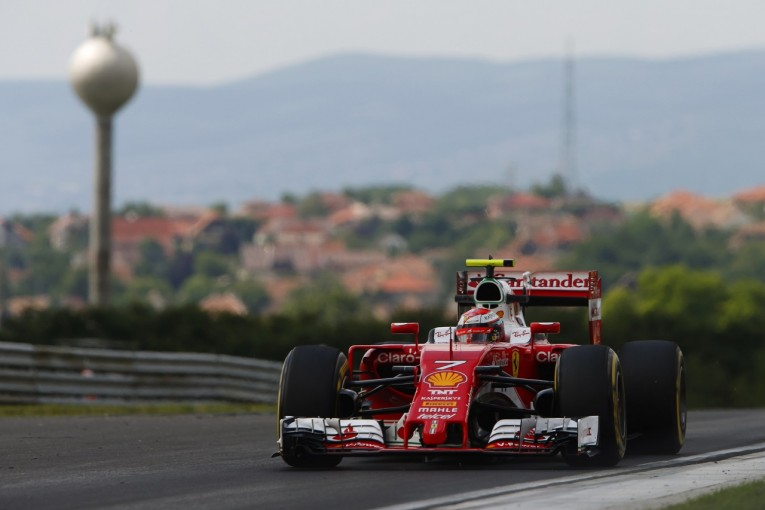 F1 | ライコネン「ライバルは速い。でも明日は、もっとよくなる」:フェラーリ ハンガリー金曜