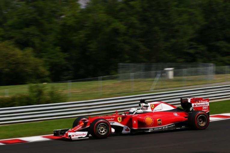 F1 | ベッテル「すべてのセクターに改善の余地がある」:フェラーリ ハンガリー金曜