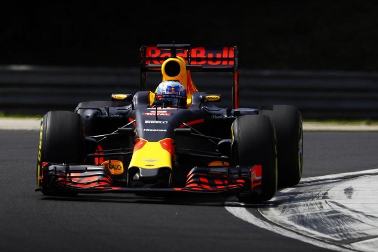 F1 | リカルド「メルセデスは手が届かないがフェラーリには勝てる」:レッドブル ハンガリー金曜