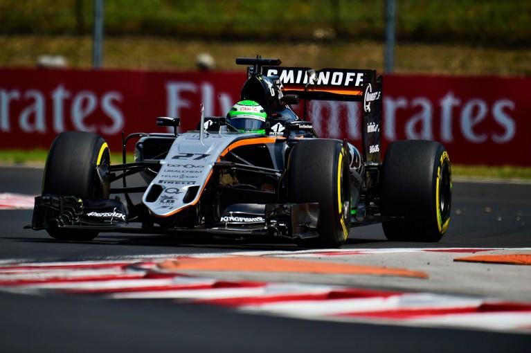 F1 | ヒュルケンベルグ「再舗装によるタイムの向上はとても大きい」:Fインディア ハンガリー金曜