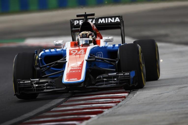 F1   ウェーレイン「予選を終えて初めて、アップデートの効果がわかる」:マノー ハンガリー金曜